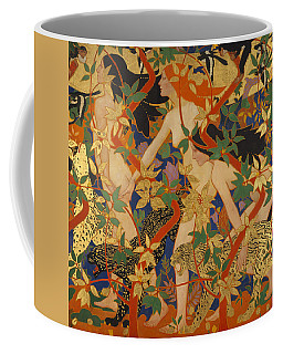 Diana And Her Nymphs Coffee Mug by Robert Burns