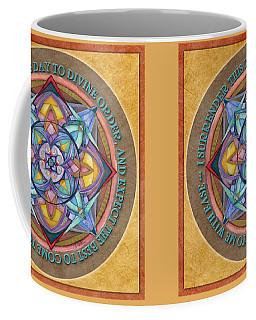 Divine Order Mandala Prayer Coffee Mug