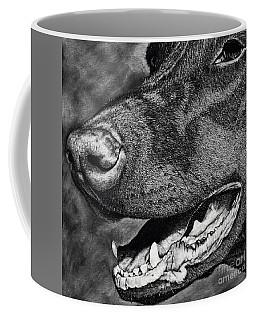 Doberman Face Coffee Mug