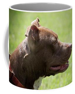 Dog At Satchel's Last Resort Coffee Mug