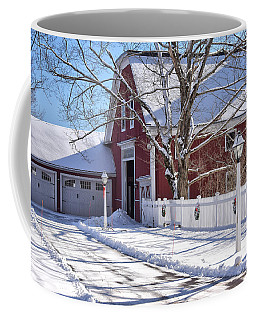 Down On The Farm Coffee Mug by Tricia Marchlik