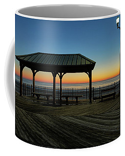 Down The Shore At Dawn Coffee Mug