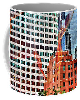 Coffee Mug featuring the photograph Downtown by Adrian LaRoque