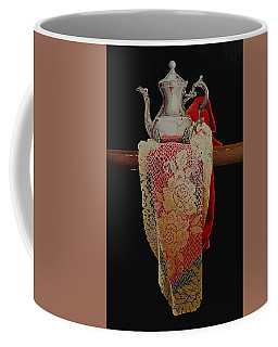 Draped Tea Service Coffee Mug