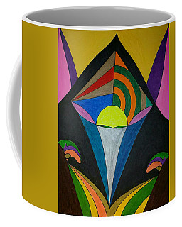 Coffee Mug featuring the painting Dream 313 by S S-ray