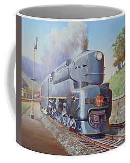 Duplex Express Coffee Mug by Mike Jeffries
