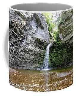 Eagle Cliff Falls In Ny Coffee Mug