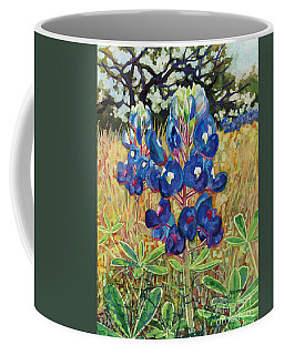 Coffee Mug featuring the painting Early Bloomers by Hailey E Herrera