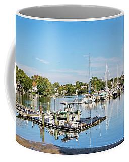 Early Fall Day On Spa Creek Coffee Mug