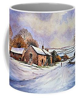 Early Morning Snow Coffee Mug