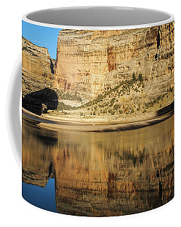 Coffee Mug featuring the photograph Echo Park In Dinosaur National Monument by Nadja Rider