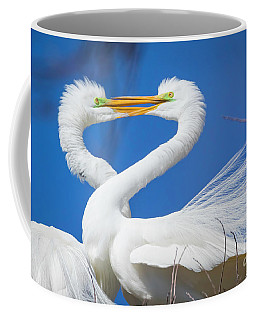 Egret Love Coffee Mug