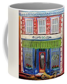 Elliptigo Brick And Mortar Coffee Mug