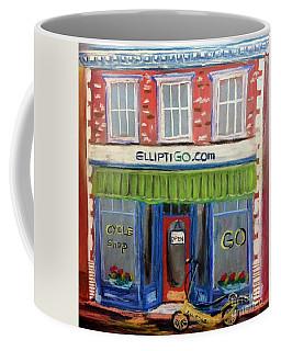 Elliptigo Brick And Mortar Coffee Mug