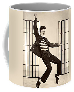 Elvis Presley In Jailhouse Rock 1957 Coffee Mug