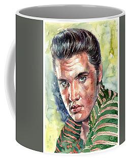 Elvis Presley Portrait Coffee Mug