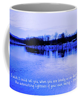 Encouragement Card Photo Of Lake Hopatcong Nj Coffee Mug
