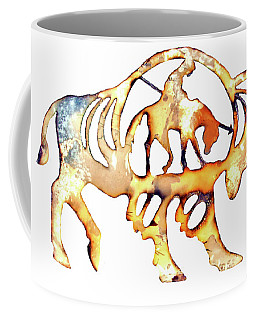 Coffee Mug featuring the photograph End Of The Trail by Larry Campbell
