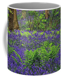 English Bluebell Woodland Coffee Mug