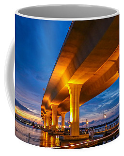 Evening On The Boardwalk Coffee Mug