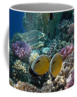 Exquisite Butterflyfish In The Red Sea Coffee Mug