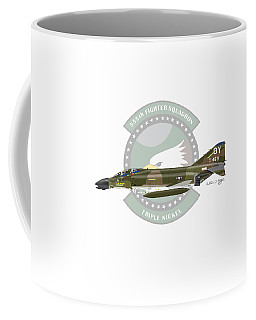 F-4d Phantom Coffee Mug by Arthur Eggers