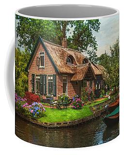 Fairytale House. Giethoorn. Venice Of The North Coffee Mug