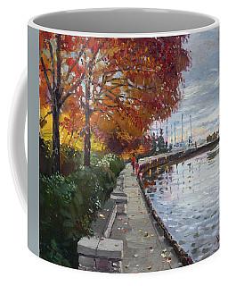 Fall In Port Credit On Coffee Mug