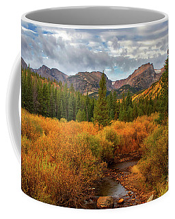 Fall In Rocky Mountain National Park Coffee Mug