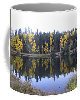 Potty Pond Reflection - Fall Colors Divide Co Coffee Mug