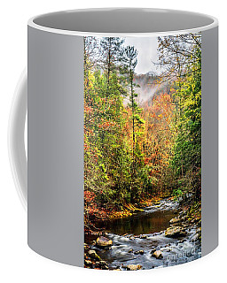 Fall In The Mountains Coffee Mug by Debbie Green
