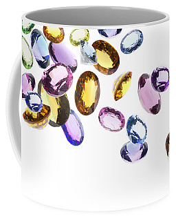 Falling Gems Coffee Mug