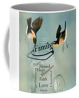 Coffee Mug featuring the photograph Family by Robin-Lee Vieira