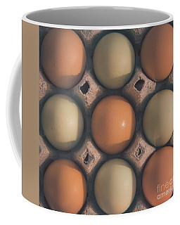 Farm Fresh Eggs Coffee Mug by Cheryl Baxter