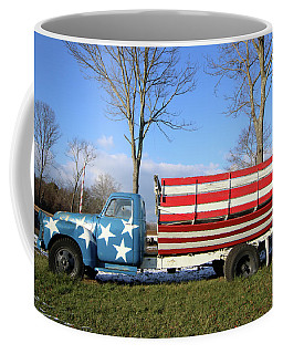 Farm Truck Wading River New York Coffee Mug