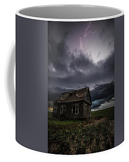 Coffee Mug featuring the photograph Fear by Aaron J Groen