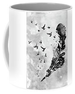 Feather-black Coffee Mug