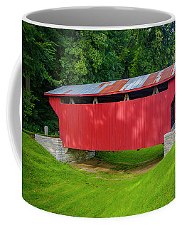 Feedwire Covered Bridge - Carillon Park Dayton Ohio Coffee Mug