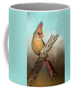 Female Cardinal Coffee Mug
