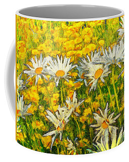 Field Of Daisies Coffee Mug