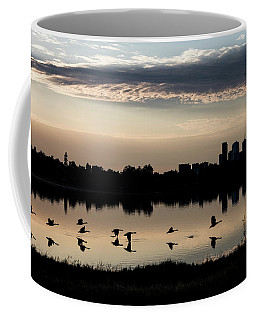 First Flight At Sunrise Coffee Mug