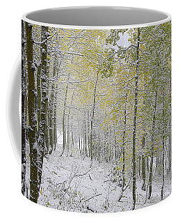 First Snow Fall Coffee Mug