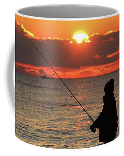 Fisherman Westhampton New York Coffee Mug