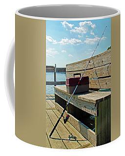 Fishin' Pole Coffee Mug