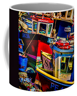 Coffee Mug featuring the photograph Fishing Fleet by Chris Lord