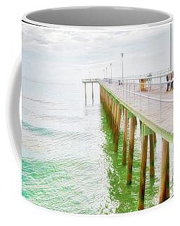 Fishing Pier, Margate, New Jersey Coffee Mug