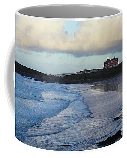 Coffee Mug featuring the photograph Fistral Beach by Nicholas Burningham