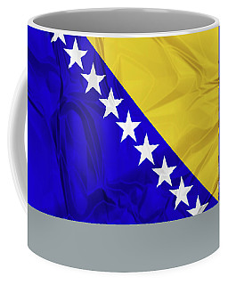 Flag Of Bosnia Coffee Mug