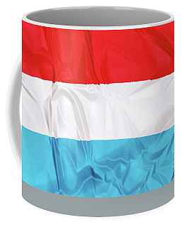 Flag Of Luxembourg Coffee Mug