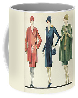 Flappers In Frocks And Coats, 1928 Coffee Mug